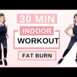 30 Minute GET FIT Indoor Walking Workout For Women Over 50!